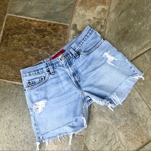 Levi's | 518 Cutoff Denim Shorts